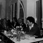 Seminario-Exposición sobre Josef Albers en la sede de la Escola EINA en Vallvidrera, durante el curso 1979-80, del 11 al 16 de marzo de 1980. Fotografía: Manel Esclusa.