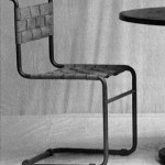 Cadira tubular d'acer (prototip). Mart Stam, 1927.