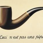 René Magritte - Ceci n'est pas une pipe - 1948