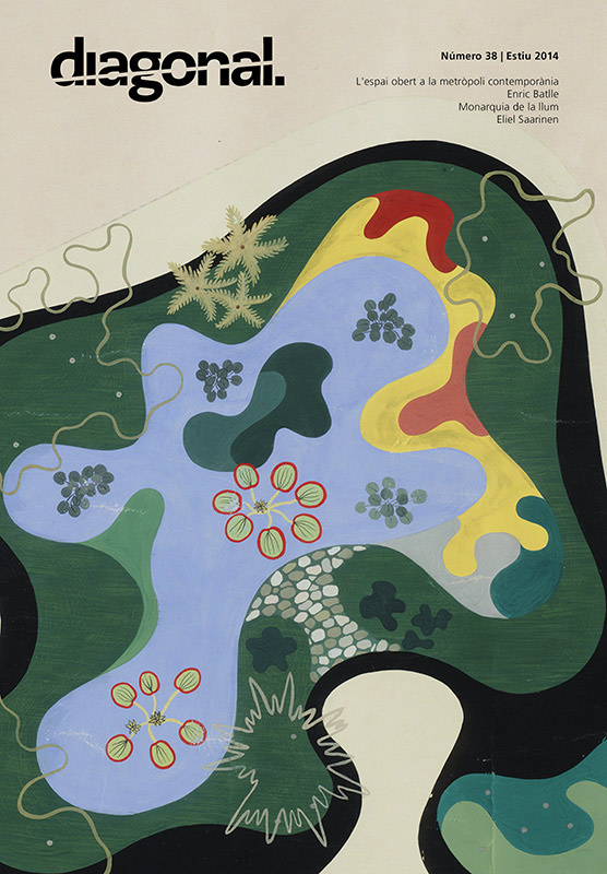 Roberto Burle Marx (1909-1994), Burton Tremaine Residence. Project: Garden plan, 1948. New York, Museum of Modern Art (MoMA). Gouache on paper, 50 1/4 x 27 3/4' (127.7 x 70.5 cm). Gift of Mr. and Mrs. Burton Tremaine. Acc. n.: SC45.1948. © 2014. Digital image, The Museum of Modern Art, New York/Scala, Florence.